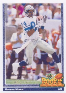 Herman Moore - Detroit Lions - Wide Receiver
