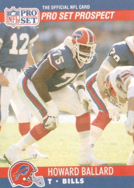 Howard Ballard - Buffalo Bills - Seattle Seahawks