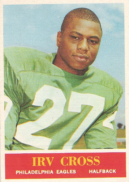 Irv Cross - Philadelphia Eagles