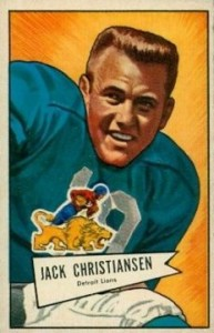 Jack Christiansen - Detroit Lions - Safety