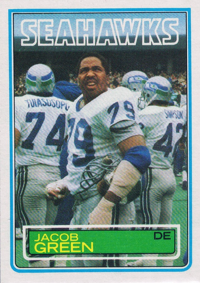 Jacob Green - Seattle Seahawks