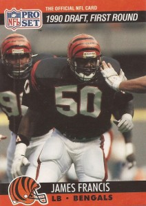 James Francis - Cincinnati Bengals - Linebacker
