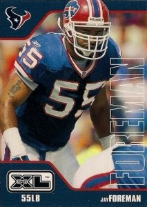 Jay Foreman - Buffalo Bills - Houston Texans - Linebacker