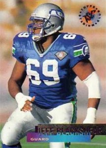 Jeff Blackshear - Seattle Seahawks - Baltimore Ravens - Guard