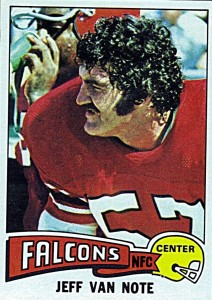 Jeff Van Note - Atlanta Falcons - Center