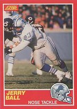 Jerry Ball - Detroit Lions - Defensive Tackle