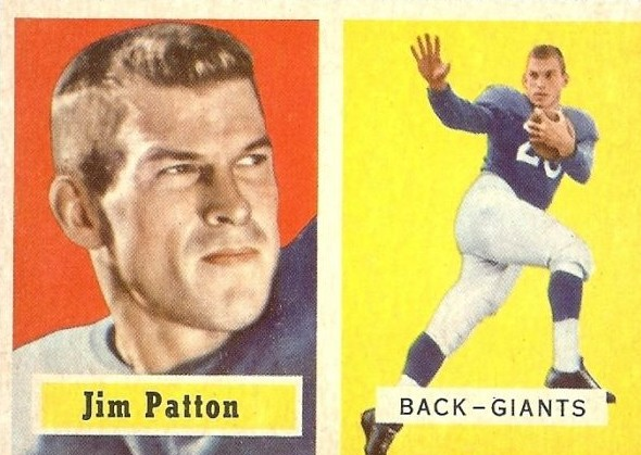 Jim Patton - New York Giants