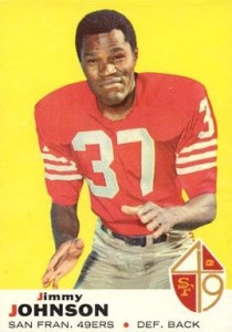 Jimmy Johnson - San Francisco 49ers - Defensive Back - Hall of Fame - HOF