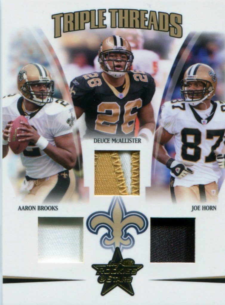 Joe Horn - New Orleans Saints - Aaron Brooks - Deuce McAllister