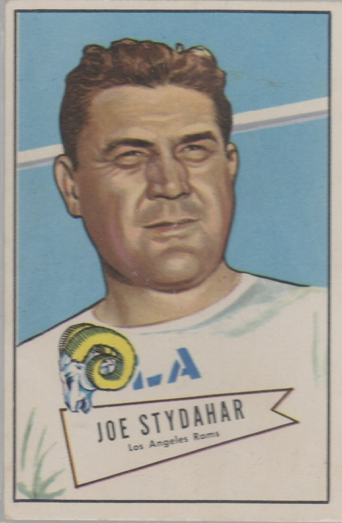 Joe Stydahar - Los Angeles Rams - Chicago Bears