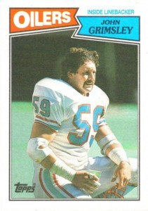 John Grimsley - Houston Oilers