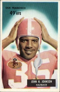 John Henry Johnson - San Francisco 49ers - Pittsburgh Steelers