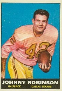 Johnny Robinson - Dallas Texans - Kansas City Chiefs