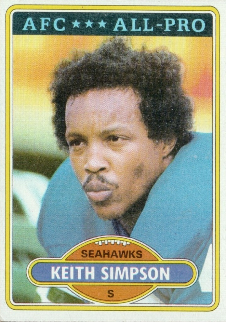 Keith Simpson - Seattle Seahawks