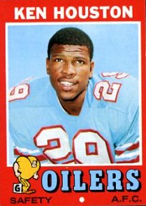 Ken Houston - Houston Oilers - Washington Redskins