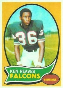 Ken Reaves - Atlanta Falcons - Oakland Raiders - Washington Redskins - Defensive Back