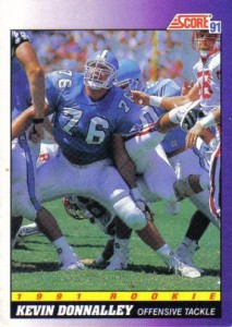 Kevin Donnalley - Houston Oilers - Carolina Panthers - Offensive Guard