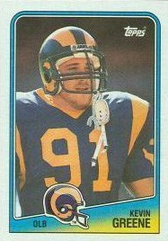 Kevin Greene - St. Louis Rams - Carolina Panthers - Linebacker