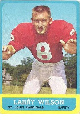 Larry Wilson - Chicago Cardinals - Arizona Cardinals - St. Louis Cardinals - Phoenix Cardinals