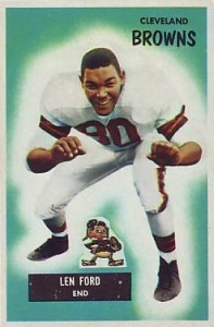 Len Ford - Cleveland Browns - Defensive End