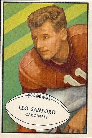 Leo Sanford - Chicago Cardinals - Arizona Cardinals - St. Louis Cardinals - Phoenix Cardinals