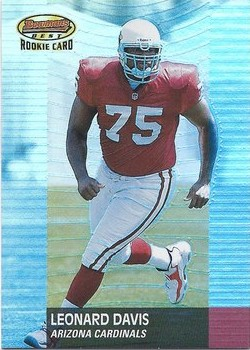 Leonard Davis - Chicago Cardinals - Arizona Cardinals - St. Louis Cardinals - Phoenix Cardinals