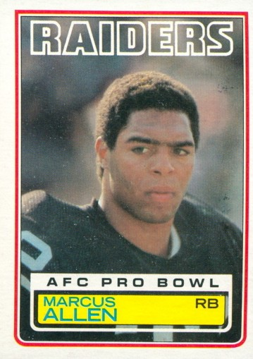 Marcus Allen - Oakland Raiders - Kansas City Chiefs