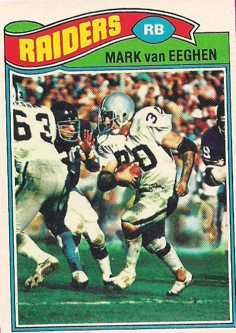Mark van Eeghen - Oakland Raiders