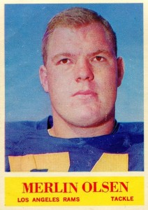Merlin Olsen - Los Angeles Rams