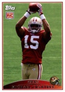 Michael Crabtree - San Francisco 49ers - Wide Receiver - Super Bowl XLVII - NFC Champions