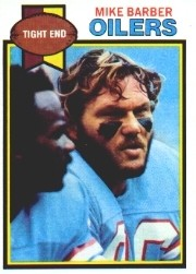 Mike Barber - Houston Oilers