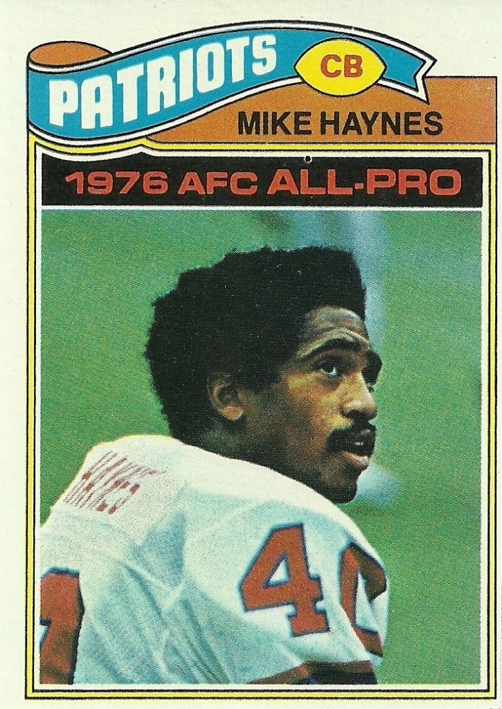 Mike Haynes - Oakland Raiders - New England Patriots