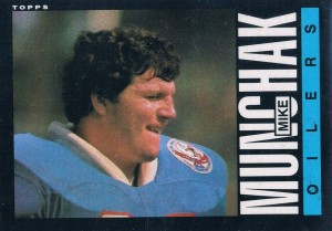 Mike Muncak - Houston Oilers