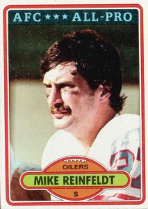 Mike Reinfeldt - Houston Oilers