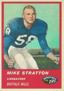 Mike Stratton - Buffalo Bills - Linebacker