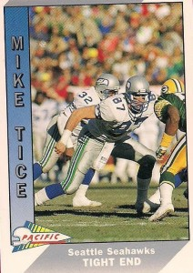 Mike Tice - Seattle Seahawks - Tight End