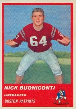 Nick Buoniconti - Boston Patriots