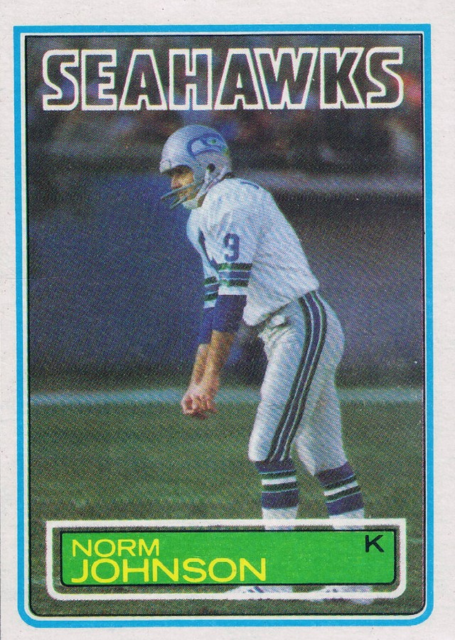 Norm Johnson - Seattle Seahawks