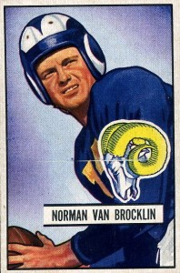 Norm Van Brocklin - Los Angeles Rams
