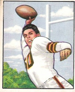 Otto Graham - Cleveland Browns - Quarterback