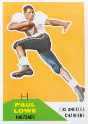 Paul Lowe - Los Angeles Chargers - San Diego Chargers