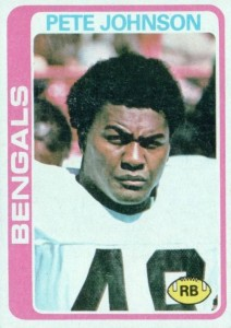 Pete Johnson - Cincinnati Bengals - Running Back
