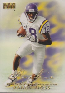 Randy Moss - Minnesota Vikings - New England Patriots
