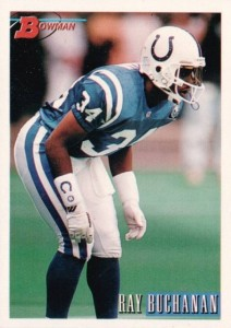 Ray Buchanan - Indianapolis Colts - Atlanta Falcons - Cornerback