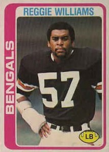 Reggie Williams - Cincinnati Bengals - Linebacker