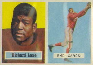 "Richard Lane - Dick ""Night Train"" Lane - Detroit Lions - Cornerback"