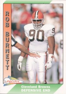 Rob Burnett - Cleveland Browns - Baltimore Ravens - Defensive End