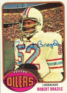 Robert Brazile - Houston Oilers