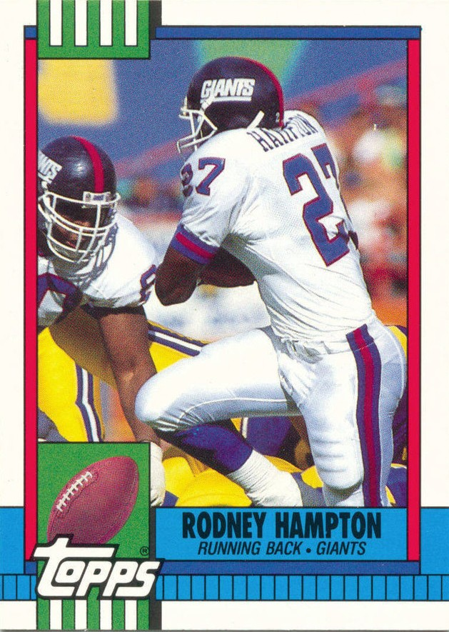 Rodney Hampton - New York Giants