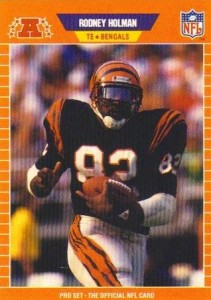 Rodney Holman - Cincinnati Bengals - Tight End